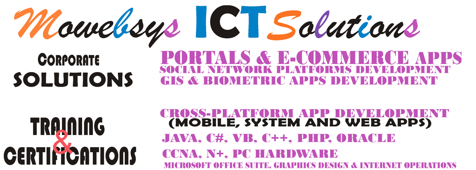Mowebsys ICT Solutions